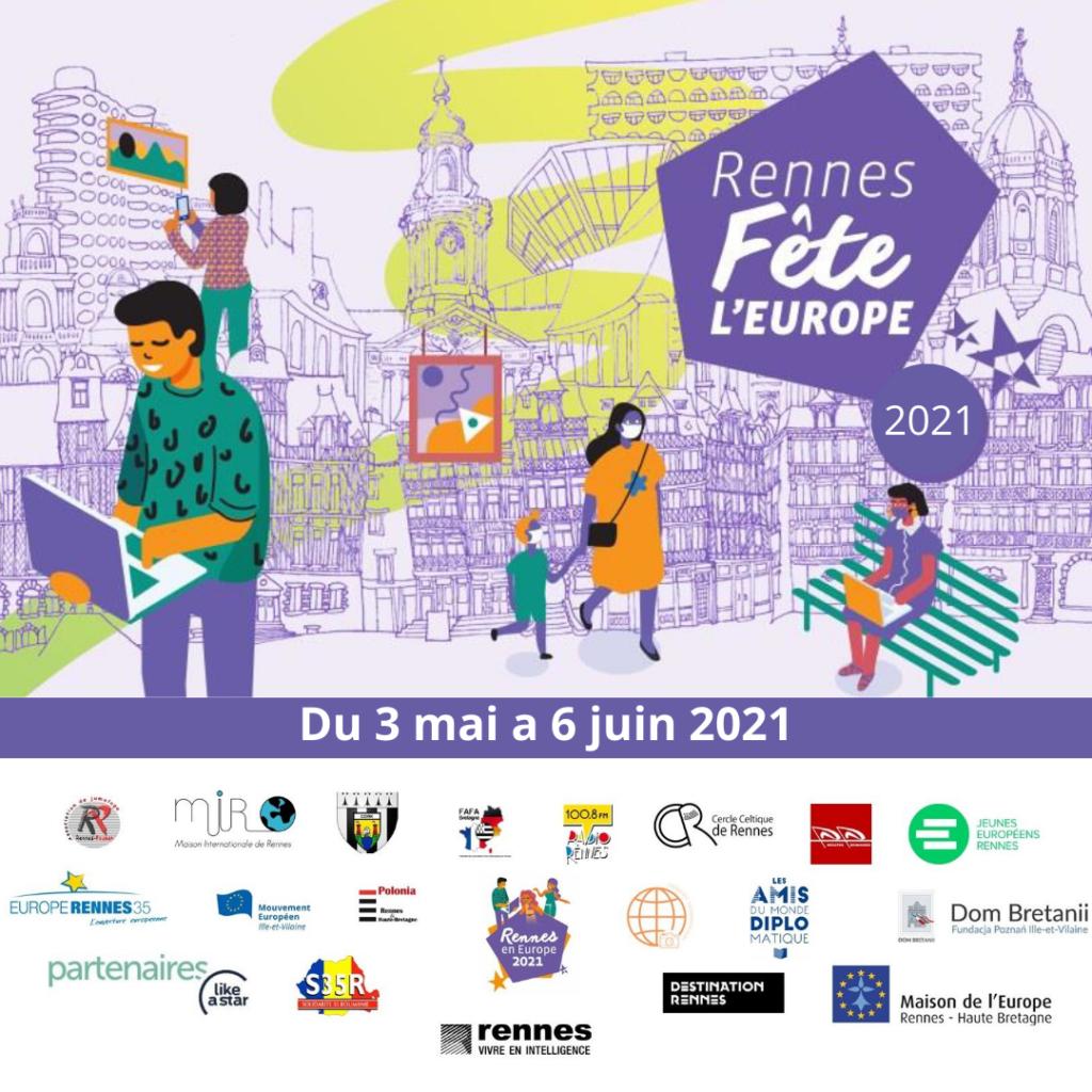 Fête de l'Europe de la Maison Internationale de Rennes 2021