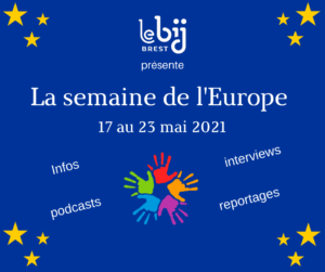 Semaine de l'Europe 2021 au BIJ de Brest
