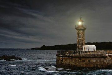 Image d'un phare au Portugal pour l'appel à participation pour la saison France-Portugal, lancé par l'Institut français
